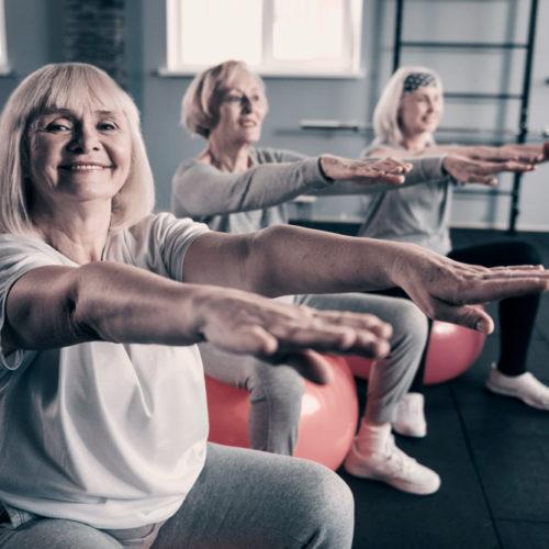 Clases Pilates Tercera Edad